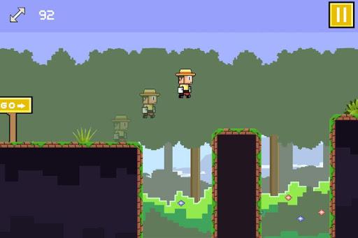 Tiny Runner -- endless running game