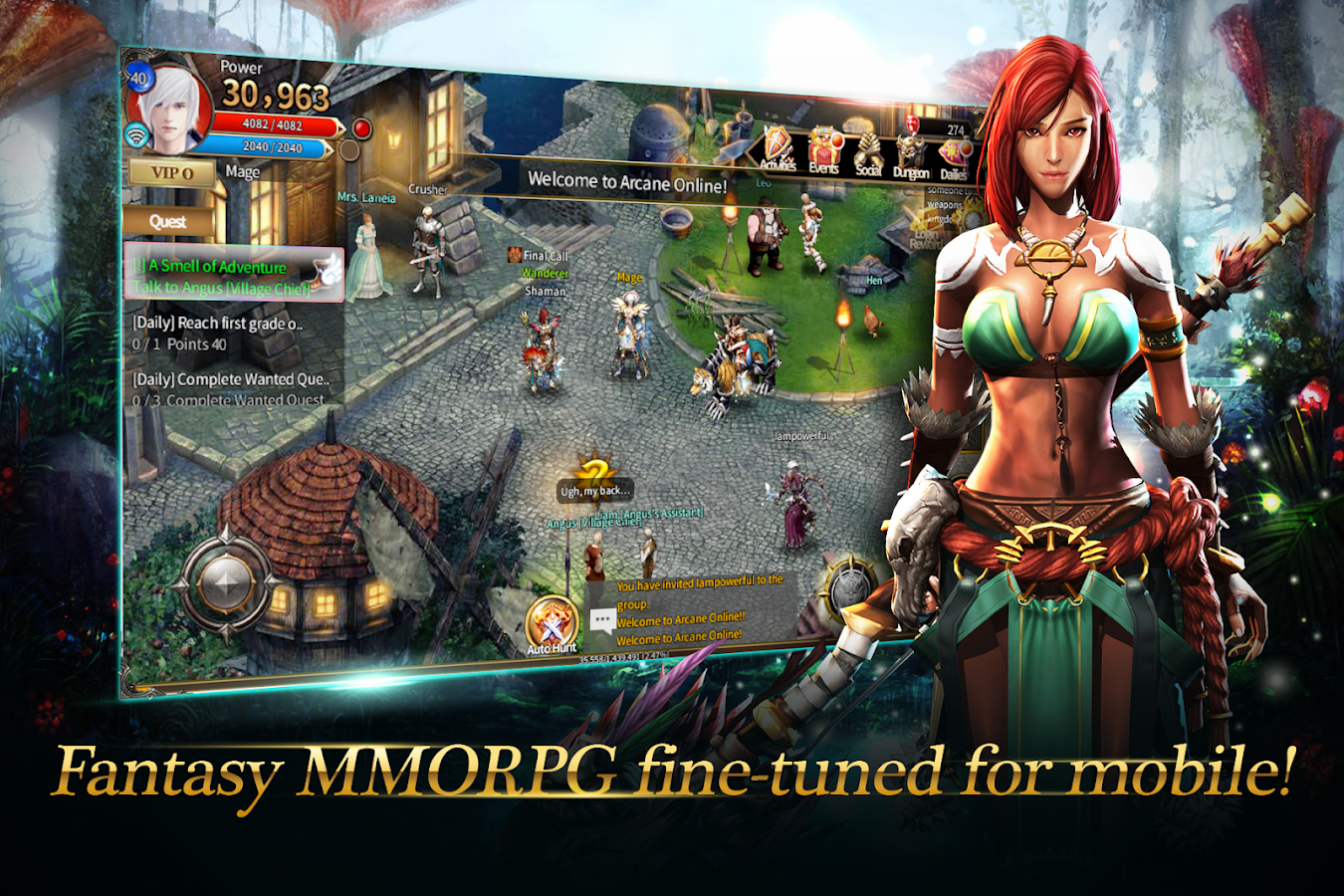 Phone Mmorpg For Android Phones arcane online mmorpg android apps on google play screenshot