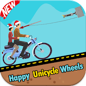 Happy Unicycle Wheels