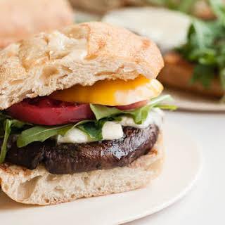 Cabernet Portabella Burgers.