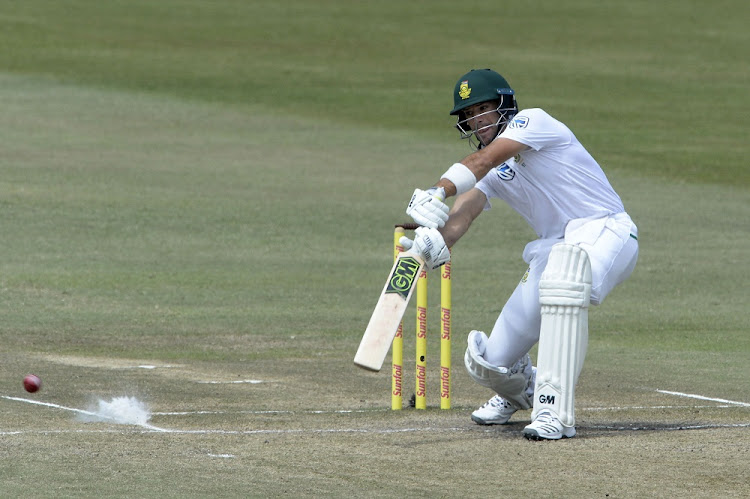 Aiden Markram of the Proteas bats during the Test match between South Africa and Australia at Kingsmead in Durban, March 04 2018. Picture: GALLO IMAGES