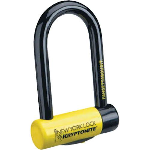 """Kryptonite New York Fahgettaboudit Mini U-Lock - 3.25 x 6"""""""