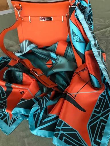 foulard latécoère 21 hydravion aéropostale barnstormer