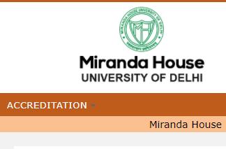 Miranda House Cut off