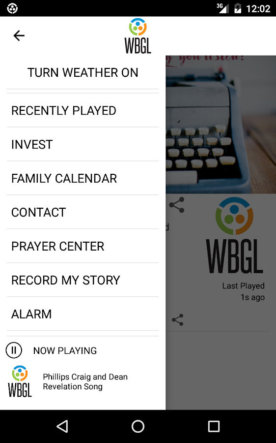 WBGL- screenshot