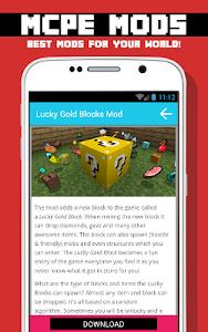 BLOCK MODS FOR MCPE screenshot 2
