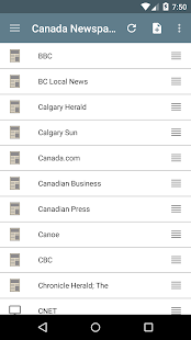Canada Newspapers- screenshot thumbnail