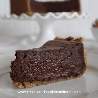 Chocolate Mousse Cake for Chocolate Moosey.
