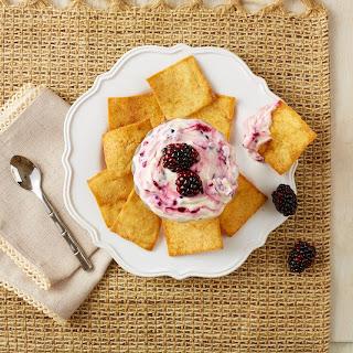 Honey-Blackberry Greek Yogurt Dip