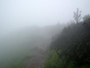 Photo: Droga na szczyt.