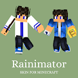 Skin Rainimator and Maps for Minecraft