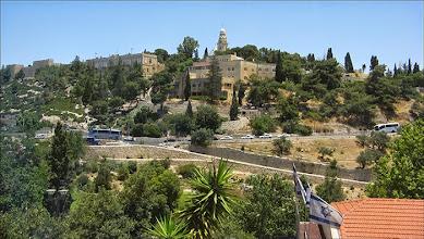 Photo: Иерусалим. Въезжаем в Иерусалим из Вифлеема.