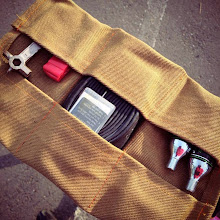 Photo: Hugga Tool Roll Iterations: too thick with Duck Cloth