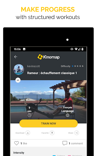 Kinomap - Indoor training videos screenshots 14