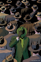 Photo: THE GREEN HORNET #9 COVER. 2013. Ink(ed by Joe Rivera) on bristol board with digital color, 11 × 17″.