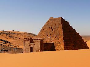 Photo: pyramids of Merowe
