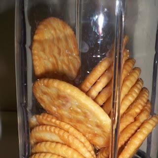 Ritz Cracker Crunchy, Cheezy Chicken.