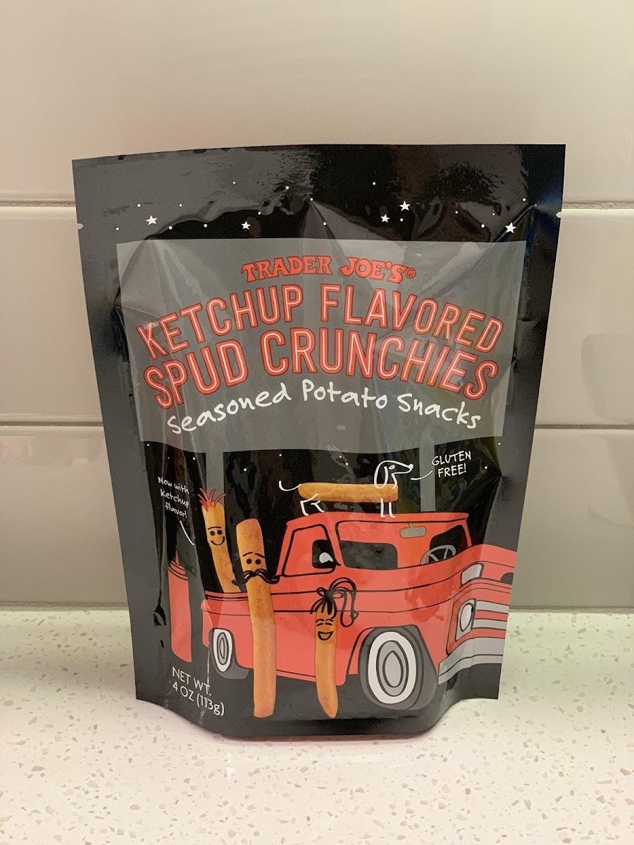 Ketchup Flavored Spud Crunchies