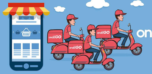 Delivery service application of products within your locality.