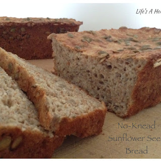 No-Knead Sunflower Seed Bread