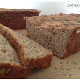 No-Knead Sunflower Seed Bread.