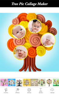 Tree Pic Collage Maker Grids - Tree Collage Photo - náhled