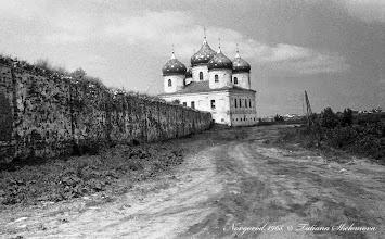 Photo: Крестовоздвиженский собор в Юрьевом монастыре. 1968 год.