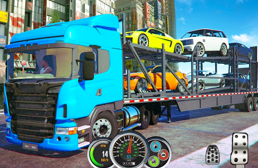 Heavy Truck Loader - Car Cargo Transport image | 5