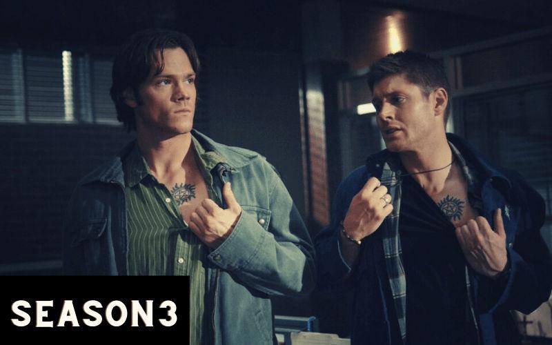 index of supernatural season 3