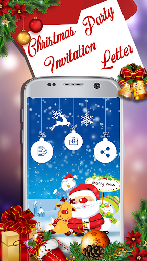 Christmas Party Invitation Letter Cards Maker App Report