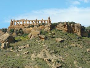 Photo: Valle di Templi (Sycylia) - kulturalne uniesienie rzymian.