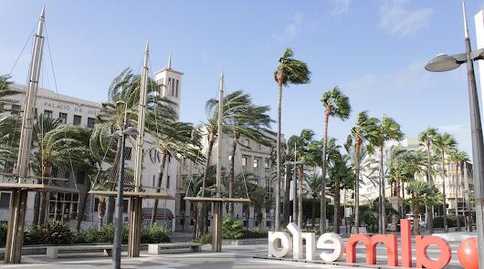 Dos pueblos almerienses sufren las rachas de viento más fuertes de España