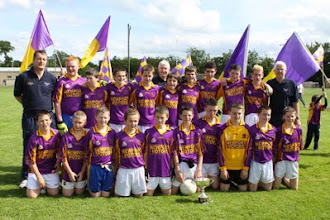 Photo: Under 14 county football champions