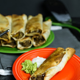 Vegetarian Flautas Recipes.