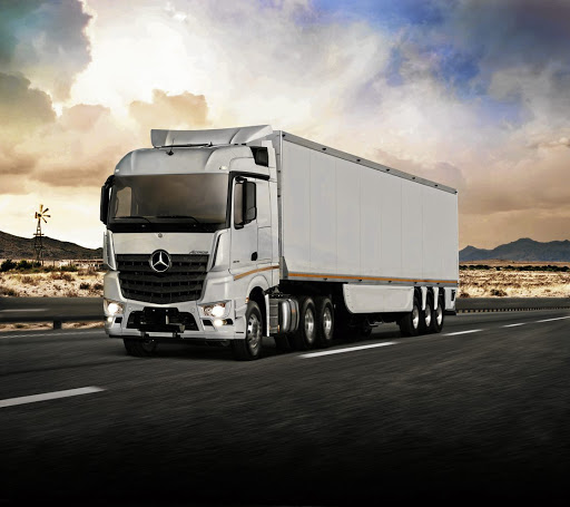The new Mercedes-Benz Actros, which is not a common sight on our roads and has not boosted sales. Picture: DAIMLER