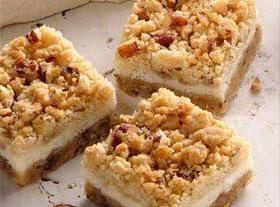 Butterscotch Cheesecake Bars Recipe