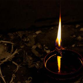 Light is Hope... by Kaustav Chakraborty - Artistic Objects Still Life ( wish, way, light, hope )