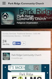 Park Ridge Community Church- screenshot thumbnail