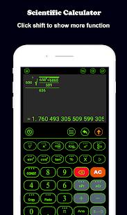 Scientific calculator (casio fx) - náhled