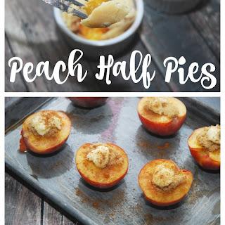 Peach Half Pie