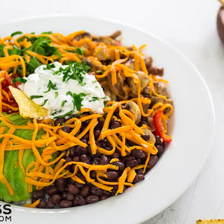 Healthy burrito bowl recipe - Fresh, flavorful & perfect for large groups.