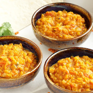 Indian Red Lentils (Daal).