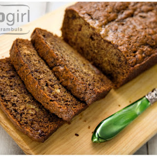 Banana Bread with Mexican Chocolate