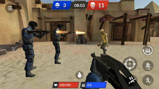 Zombie Top - Online Shooter  captures d'écran 6