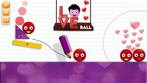 Love Ball - Physics Puzzle 1.1.2 screenshots 4