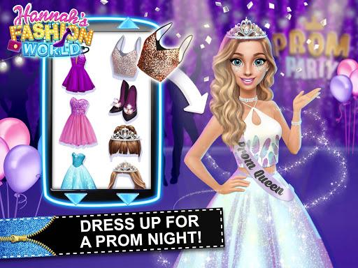 Hannahu2019s Fashion World - Dress Up Salon for Girls 1.0.15 screenshots 21