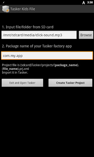 Tasker Kids File - Apps on Google Play