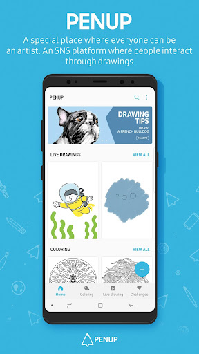 PENUP - Share your drawings 3.1.03.1 screenshots 1