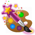Magic Paint drawing & coloring icon