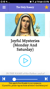 Pray The Holy Rosary  (With Audio)- screenshot thumbnail